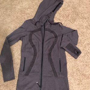 Lululemon Athletica Hooded/Fitted Yoga Jacket